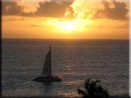 Sunset on Thursday