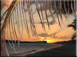 Sunset on Simpson Bay