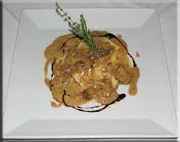 Sweetbread raviolis