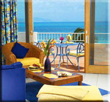 room and view at CuisinArt resort