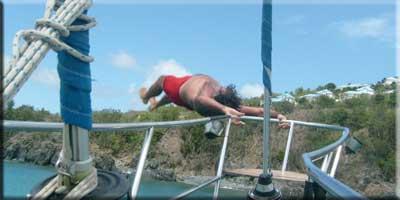 Handstand flip