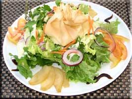 St Marcellin salad
