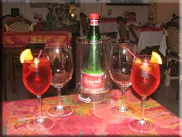 Proseco and Campari