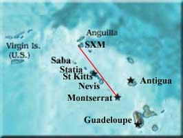 Local area island map