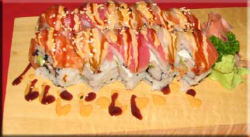 Yellow tail sushi