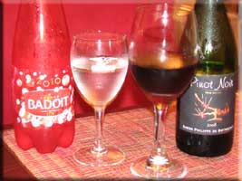 Pinot Noir and extra fizzy