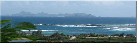 Galion Beach and St Barts