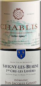 Chablis and Savigny-Les-Beaune
