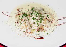 Marlin ravioli