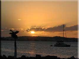 Marigot sunset